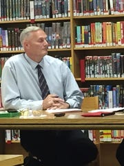 In the hot seat, Treynor Superintendent  Kevin Elwood