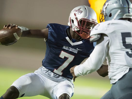 Malik Cunningham (7) led Park Crossing to the Class