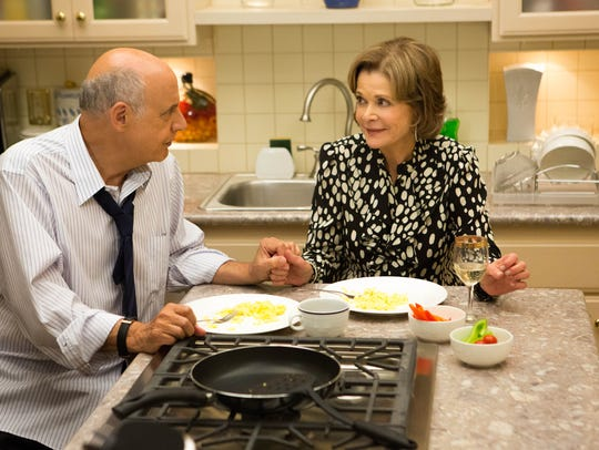 George Sr. (Jeffrey Tambor) and Lucille (Jessica Walter)