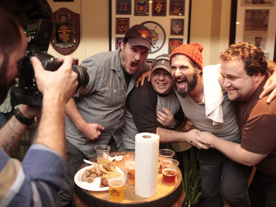 The annual Cooktoberfest party at Captain Lawrence