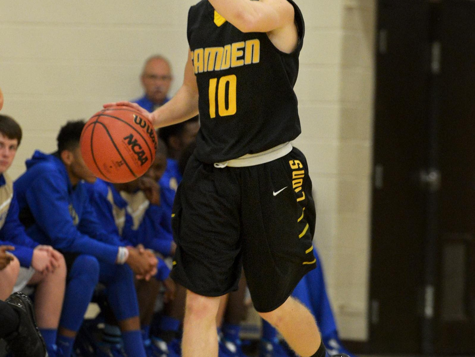 Camden's Tanner Johnson and the Lions have a tough game on Friday night against CreekWood.