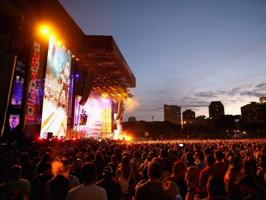 Samsung Galaxy at Lollapalooza 2015 - Day 2