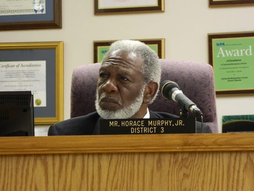 Horace Murphy, Jr. retires after 20 years on school board.