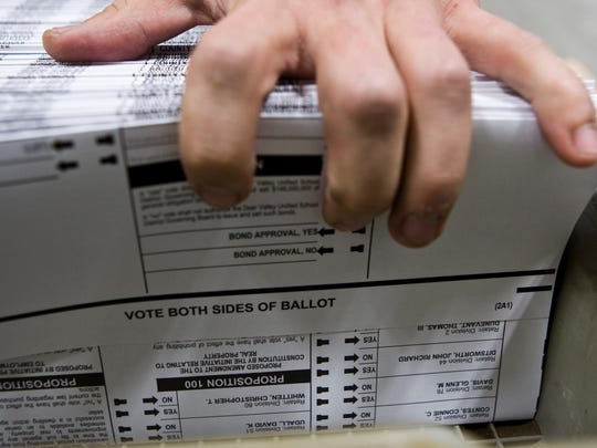 Independents make up about one-third of Arizona's registered voters.