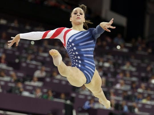 DeWitt's Jordyn Wieber was a member of the Fierce Five,