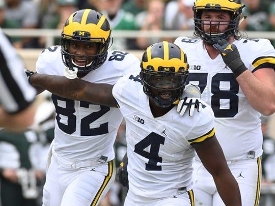 No. 3 Michigan has taken temporary control of the Big Ten standings