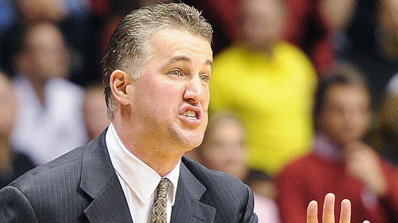 Matt Painter (pictured) is demanding more out of his young, but experienced, players, after Purdue started 0-2 in the Big Ten.