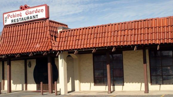 The original location of Peking Garden Restaurant is