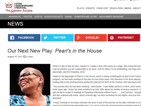 Pearl's in the House