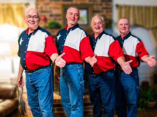 "San Angelo's own ""Texas Pride"" a Capella barbershop harmony quartet will perform during the ""Faith, Freedom, and Family"" concert."