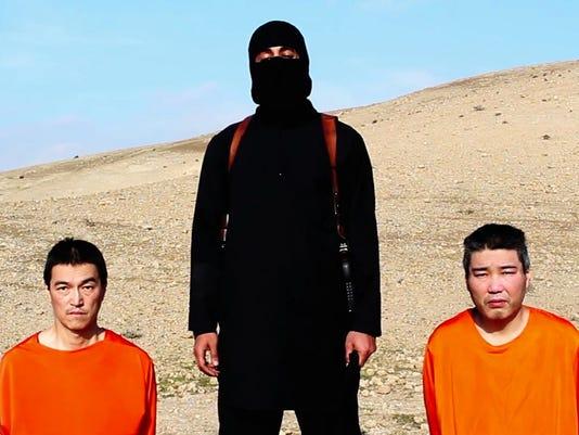 Japan hostages
