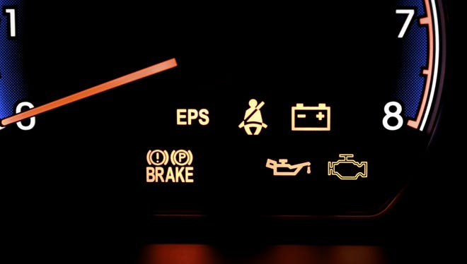 Consult your owner's manual about the dashboard warning lights.