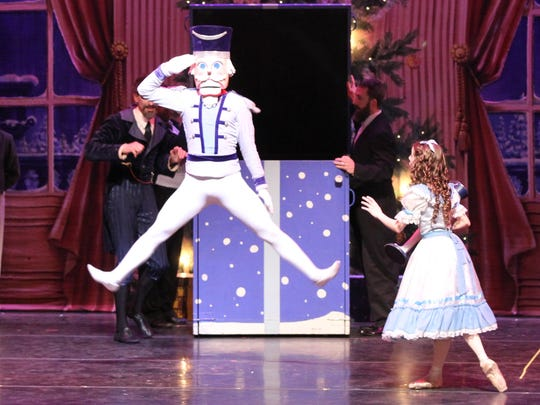 """The Nutcracker"" enchanted audiences Saturday at Memorial Auditorium."