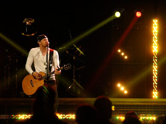 Chase Rice opens for Kenny Chesney at the YUM! Center