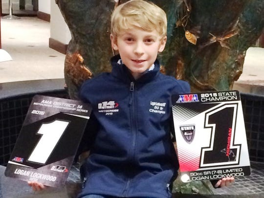 South Lyon's Logan Lockwood is a standout in the youth amateur motocross circuit.