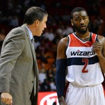 John Wall, Randy Wittman and the Wizards they still aren't firing on all cylinders.