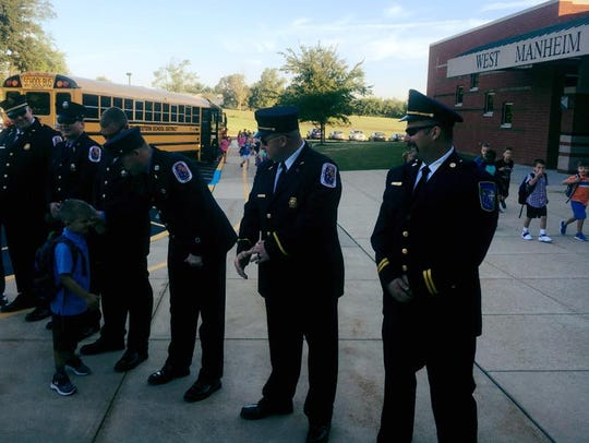 The children of fallen Prince George's County Fire