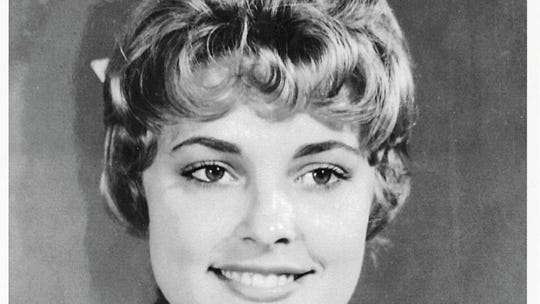 Sharon Tate poses as Miss Richland (California) in