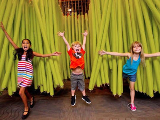 Kids can participate in themed activities and play
