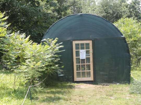 Temporary structure used for Greenburgh Nature Center's