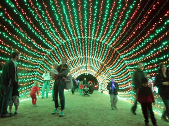 The WildLights at The LIving Desert are among the activities people may peruse this weekend across the Coachella Valley.