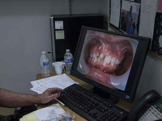 The first pictures of Danitza Guerra's mouth on Dr.