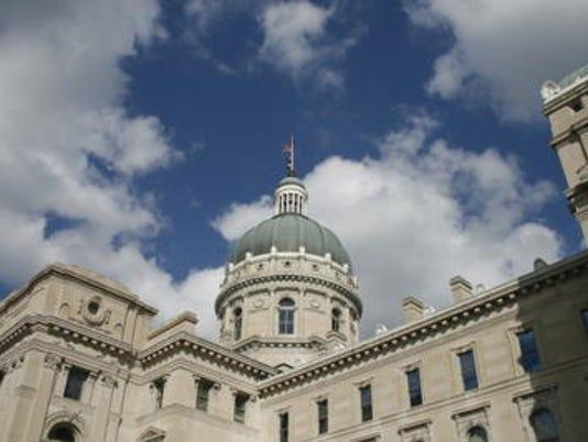 MNI 0102 Indiana Statehouse
