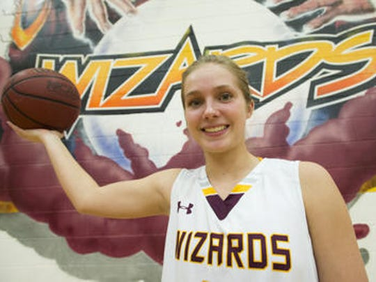 Senior Sabrina Oliver is a varsity starter for the Windsor High School girls basketball team after nearly being cut as a freshman.