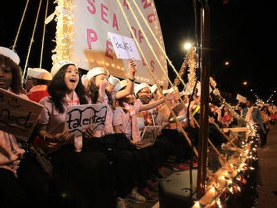 The Edison Festival of Light Grand Parade is Saturday.