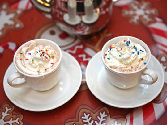 The best time of year to drink hot chocolate is during the holiday season. Pack a thermos full of the tasty drink to sip while you're at holiday events like the Carmel Christkindlmarkt.