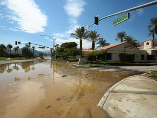 La Quinta drainage study