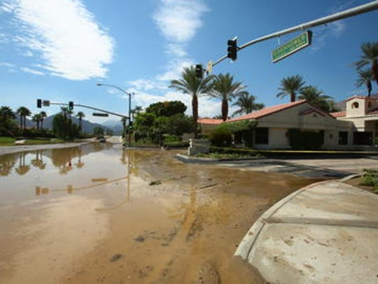 The La Quinta City Council is weighing how to improve its drainage system, possibly to a 500-year level, to avoid flooding like what occurred in September 2014.