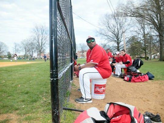 Rahway High School baseball coach Brad Edwards during