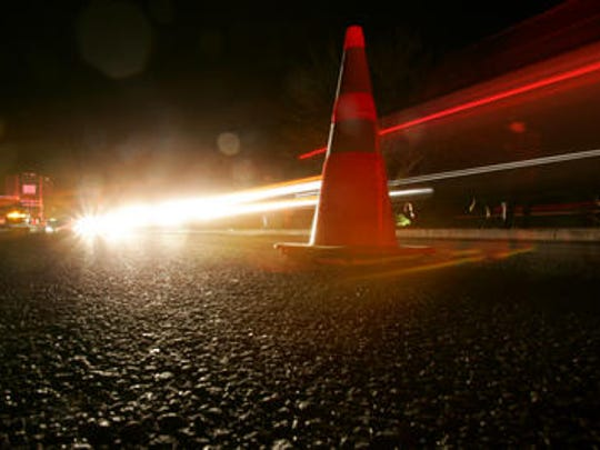 The incident occurred around 7:20 p.m. at Washington Street and Hovley Lane, according to the Riverside County Sheriff's Department.