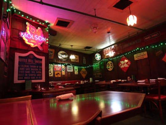 Poor Henry's Irish pub.