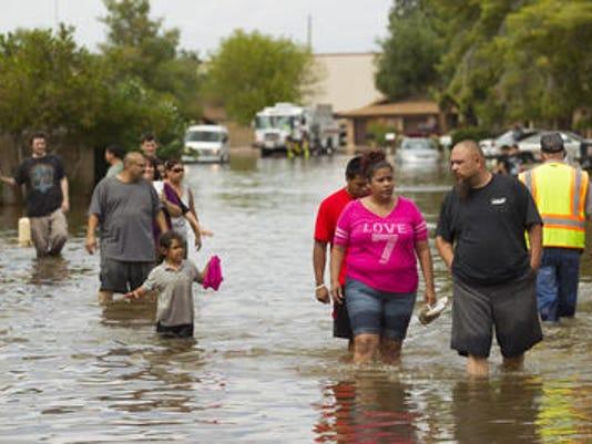 Mesa flooding