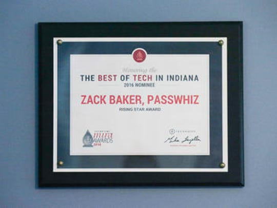 Eighteen-year-old Zack Baker's Best of Tech in Indiana