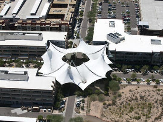 While most of the 42-acre project is leased to ASU Foundation for development, Scottsdale retains a 1.5-acre lot within SkySong for its own use.