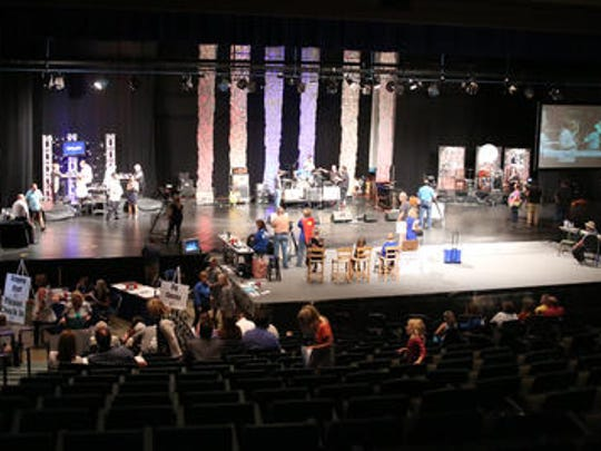 The Carl Perkins Civic Center hosted the thirty second