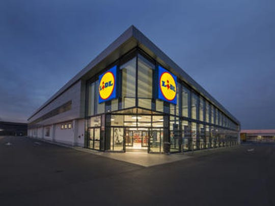 A Lidl grocery store is shown. The company plans to