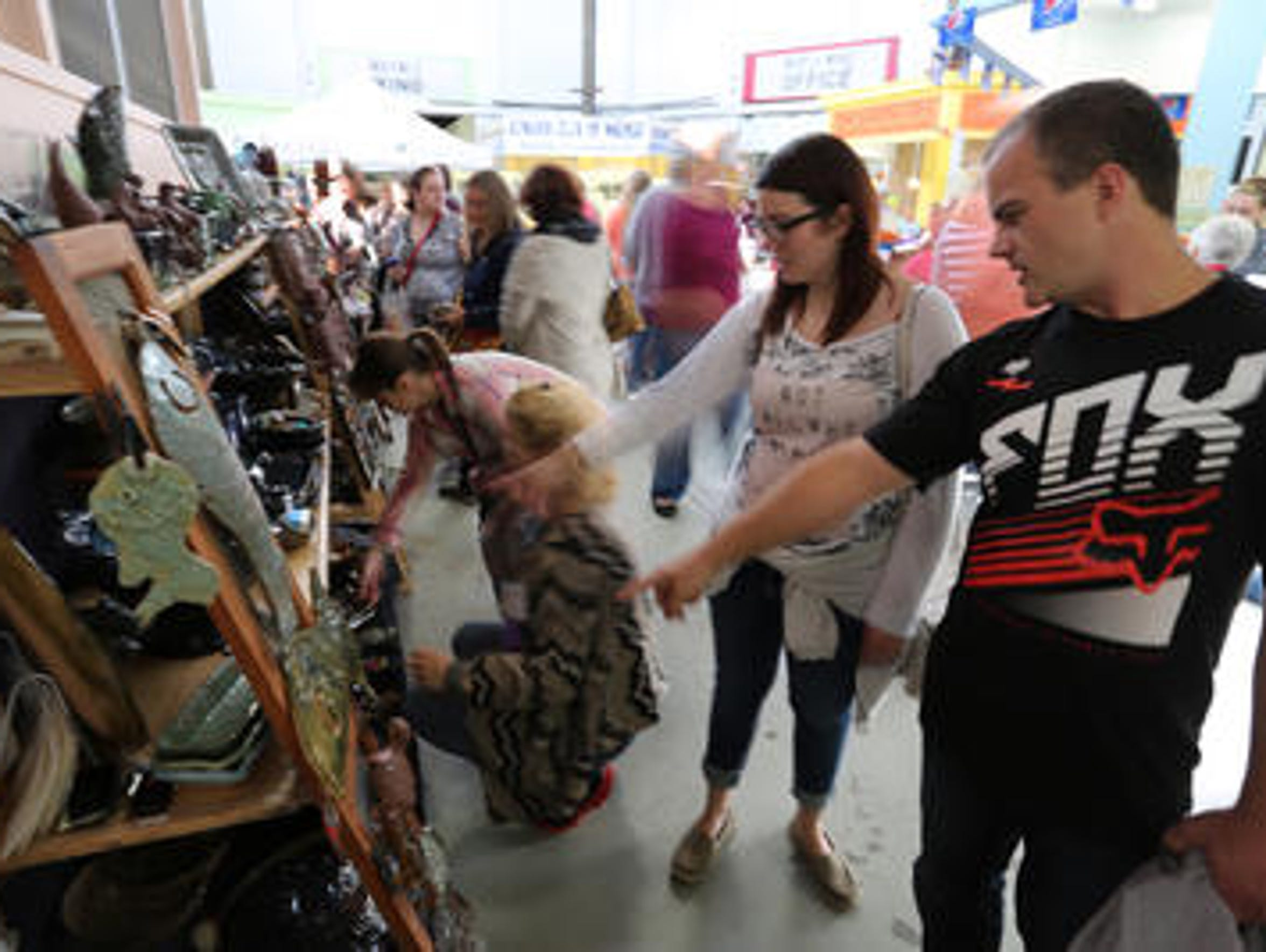 Art, artists and art lovers invaded Wausau for the