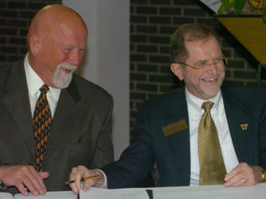 While President of KCC, Ed Haring approved a joint