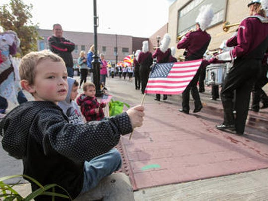 Celebrate veterans at the annual Veterans Day Parade