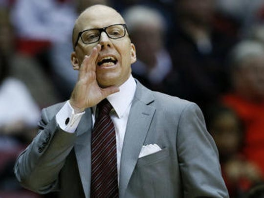 Mick Cronin wore glasses during games last year, but