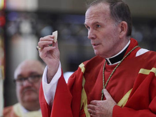 Bishop David O'Connell has announced a restructuring for parishes in the Diocese of Trenton.