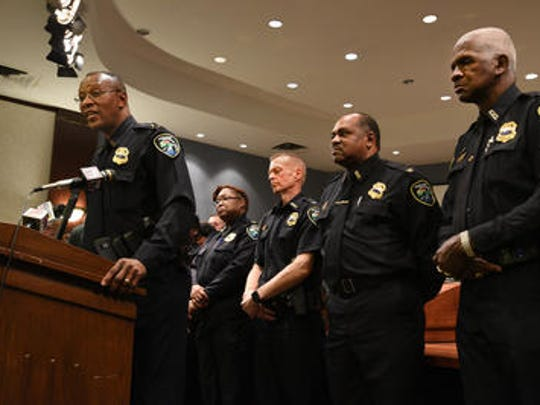 Shreveport Police Chief Alan Crump speaks about what SPD is doing to curb violence following a violent weekend in the city.