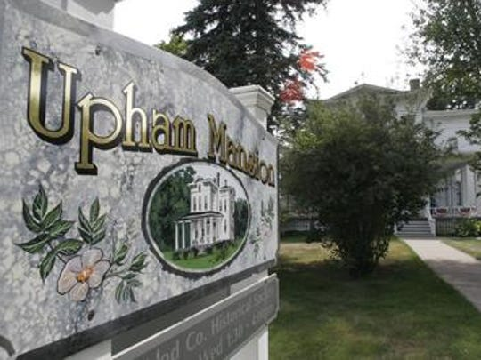 The Upham Mansion is holding a embroidery class this weekend.