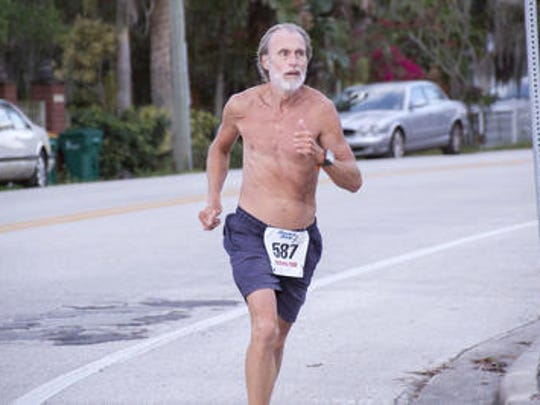 Matt Mahoney is a frequent runner at many of the numerous races that take place each in Brevard County.
