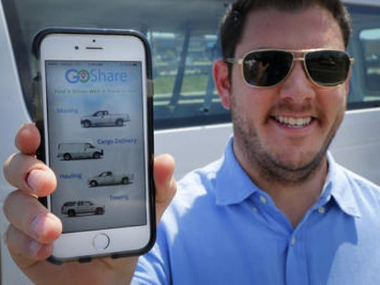 GoShare, a company founded by Howell native Shaun Savage, is hiring drivers.