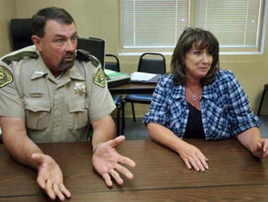 Van Buren Sheriff Dan Tedrow